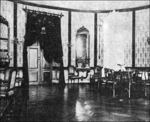 Интерьер бальной залы, до 1914 года. Фото radziwill.by