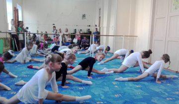 дети, художественная гимнастика