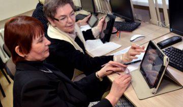 пенсионеры планшет