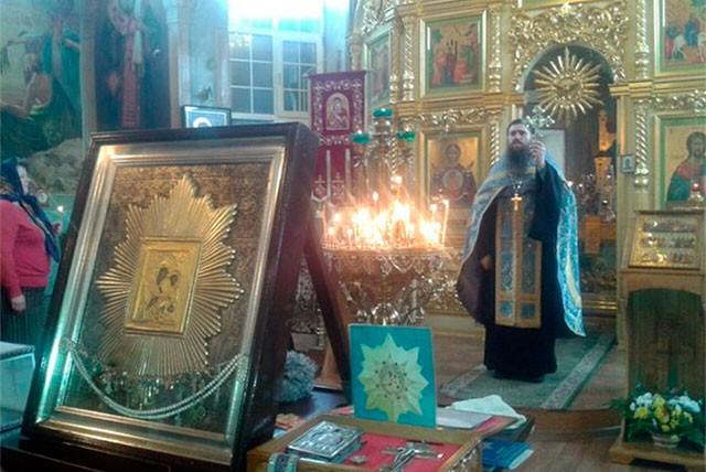 """Икона Богоматери """"Избавительница""""(Ташлинский список). Фото выкса.рф"""