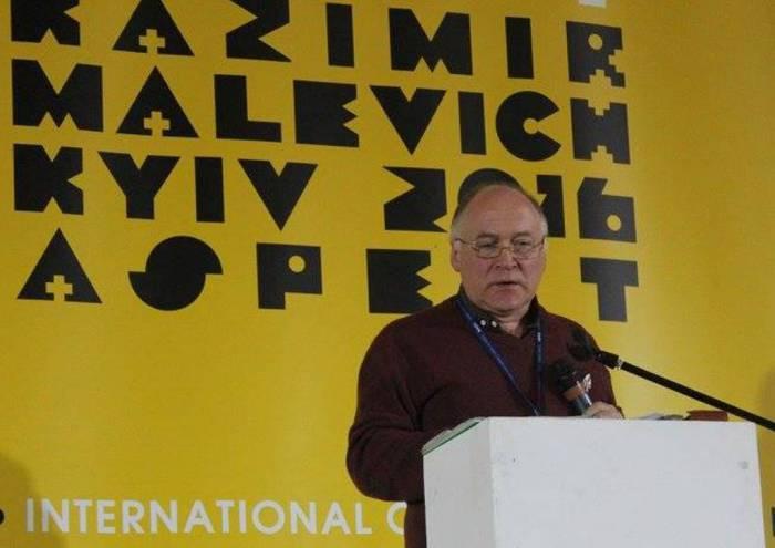 Доклад читает Александр Лисов. Фото из архива респондента