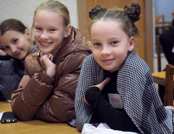 подиум школа девочки
