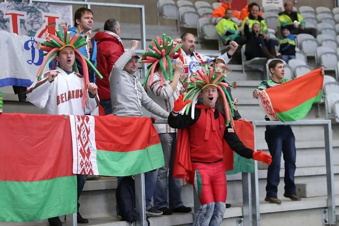 Белорусские болельщики