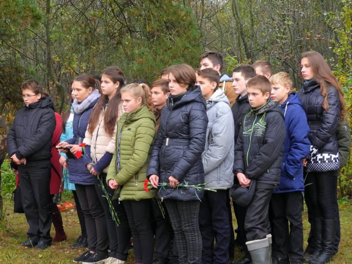 Ученики из деревни Мазлово и Должа