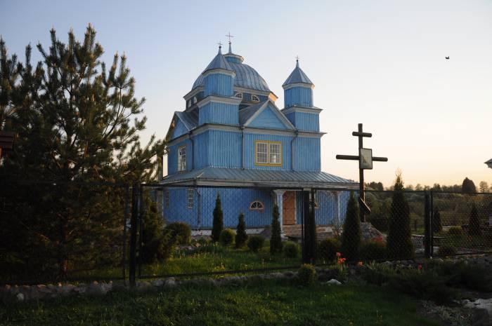 Спасо-Преображенская церковь в Смолянах. Фото Анастасии Вереск