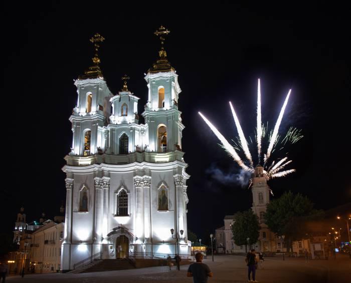 Витебск праздник ратуша