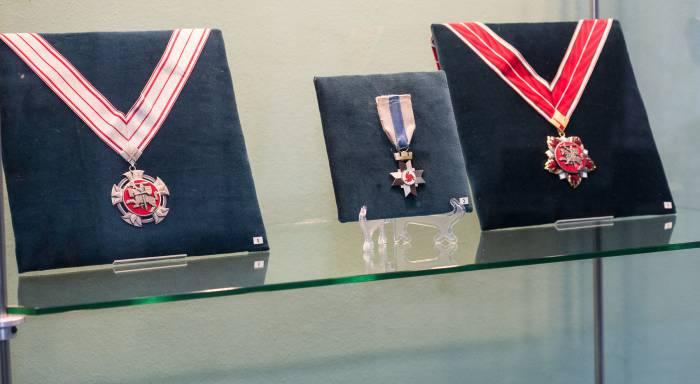 выставка «Награды стран мира» Тракайского музея