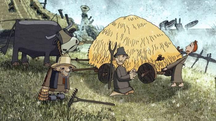 Кадр из мультфильма «Дзед» режиссера Александра Ленкина