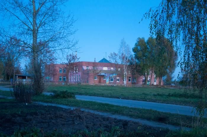 Школа в поселке Красное Утро. Фото Анастасии Вереск