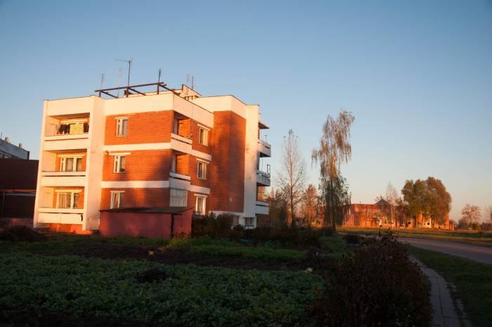 Многоэтажный дом в Красном Утре. Фото Анастасии Вереск
