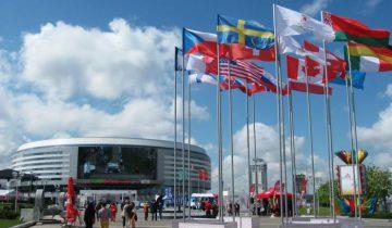 «Минск-Арена» в 2014 году.