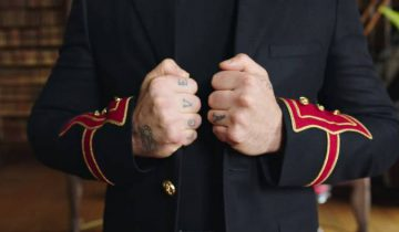 Фото из клипа. Источник: www.delfi.lv
