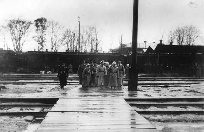В 1915 году Витебск посетил император Николай ІІ. Фото vitebskcity.info