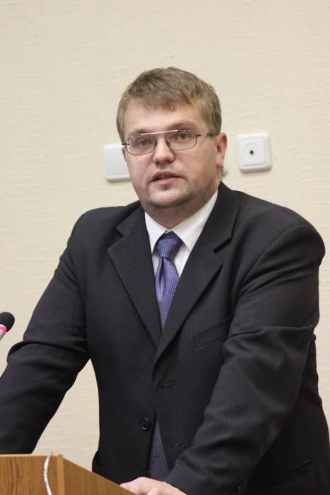 Максим Макаров. Фото из архива исторического факультета ВГУ имени П.М. Машерова