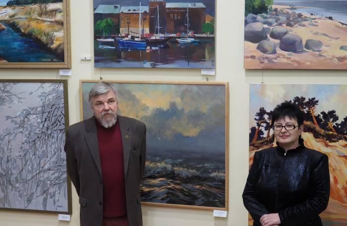 Михаил Цыбульский и Ольга Акуневич