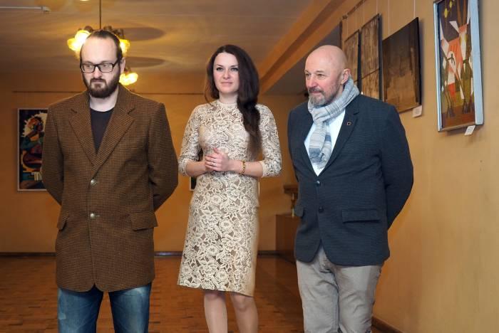 Андрей Жигур, Наталья Ермолова, Александр Слепов