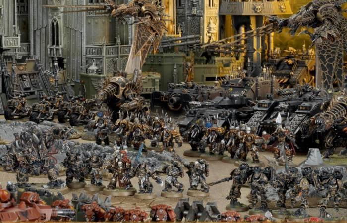 "Масштабная баталия ""Warhammer 40,000"". Источник fbcdn-sphotos-f-a.akamaihd.net"