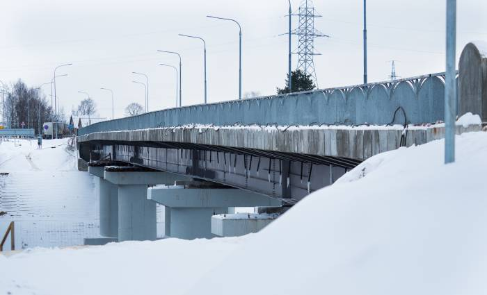 Новый мост в Рубе