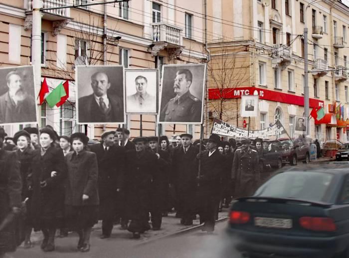 витебск, фотопроекция, борисенков