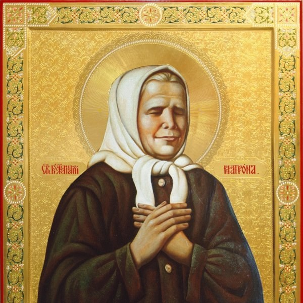 В каком монастыре икона матрены