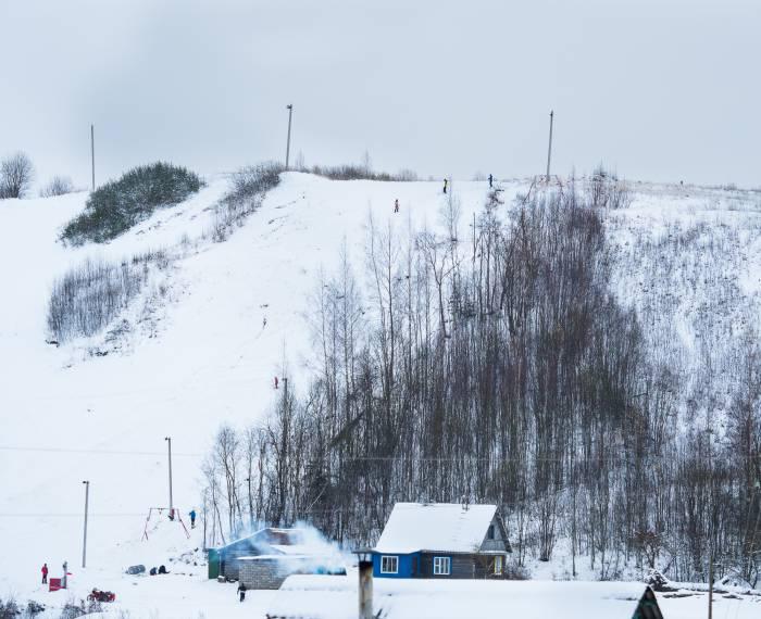 горные лыжи в Рубе