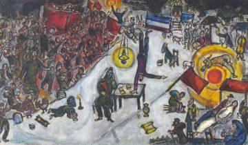 "Картина ""Революция"" Марка Шагала. Фото gorbutovich.liveinternet.com"