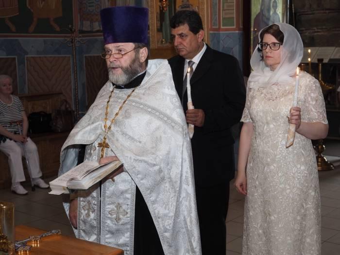 Венчание в Благовещенской церкви