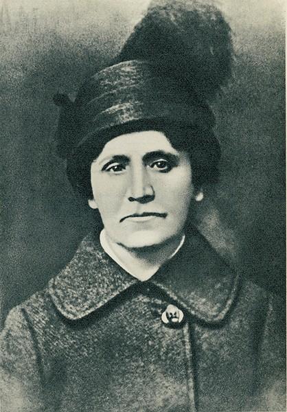 Мама Самуила Яковлевича Евгения Борисовна Маршак (Гиттельсон). Фото russkiymir.ru