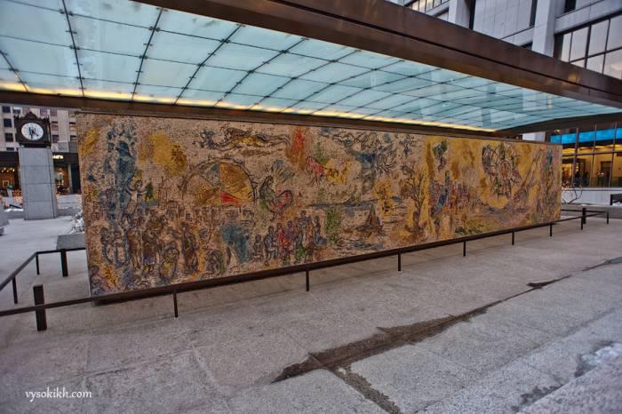 Мозаика Шагала