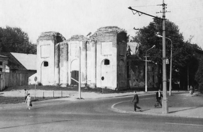 Покровская церковь в 1958 году. Фото из архива А.А. Кочетовой