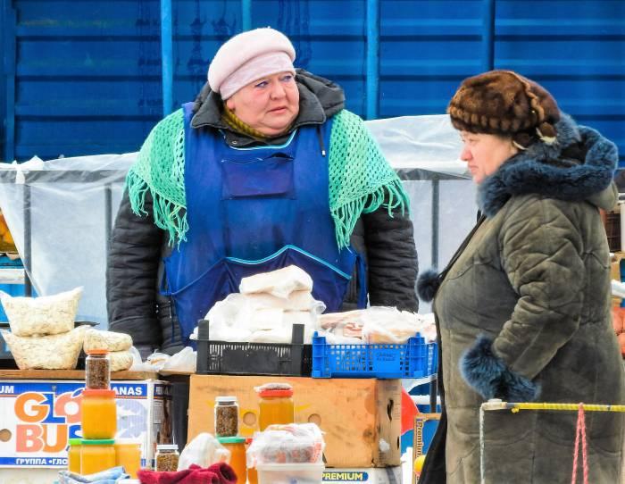 сало, рынок