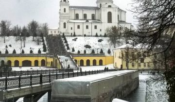 зима, вид на Успенский собор