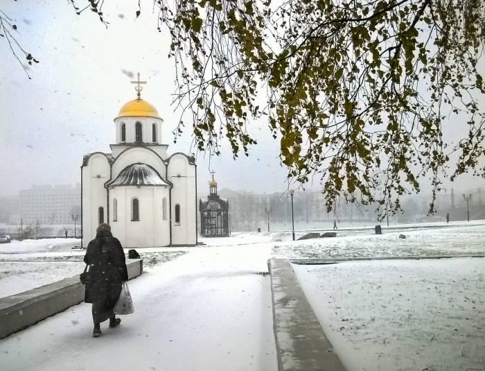 зима, Благовещенская церковь