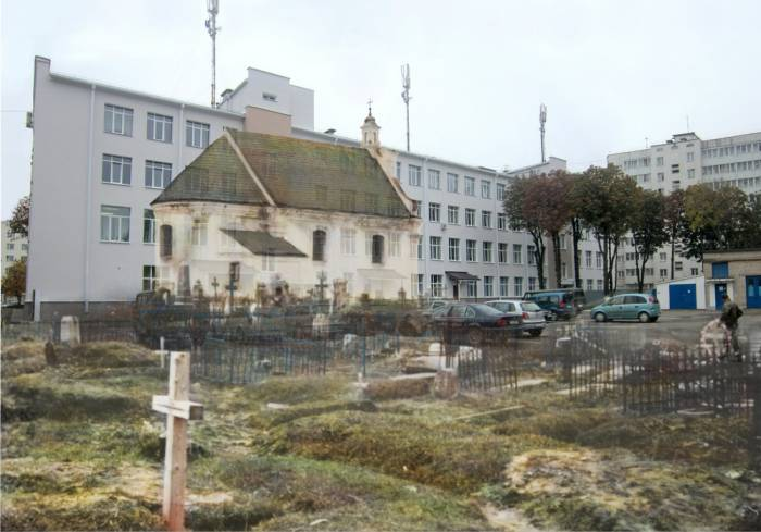 витебск, Борисенков, фотопроекция