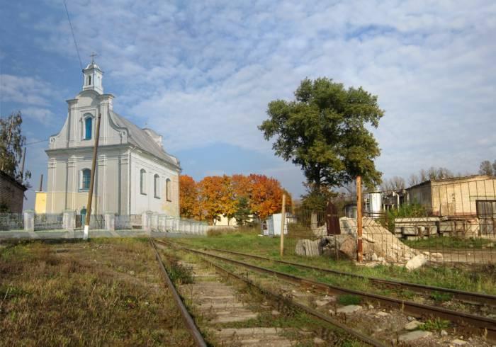 витебск, церковь, фотопроекция