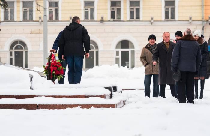 7 ноября площадь Ленина