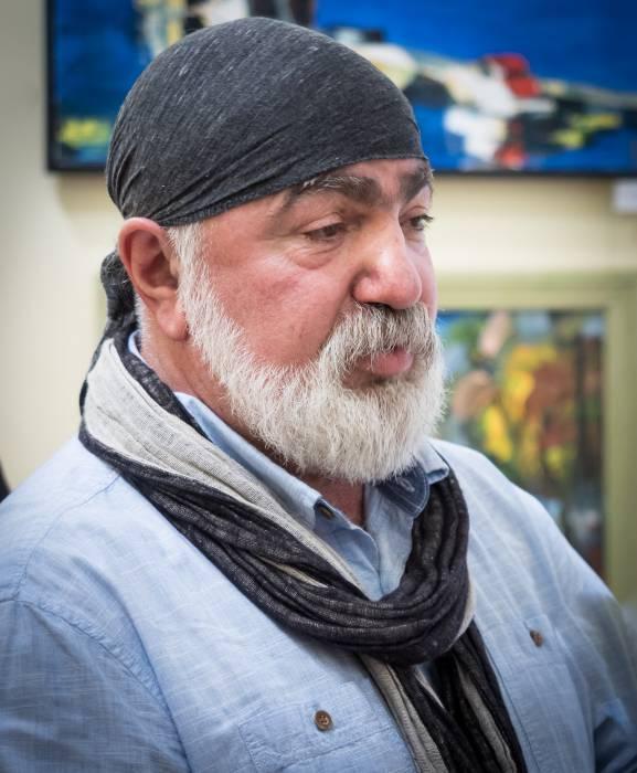 Нугзар Паксадзе, художник из Юрмалы