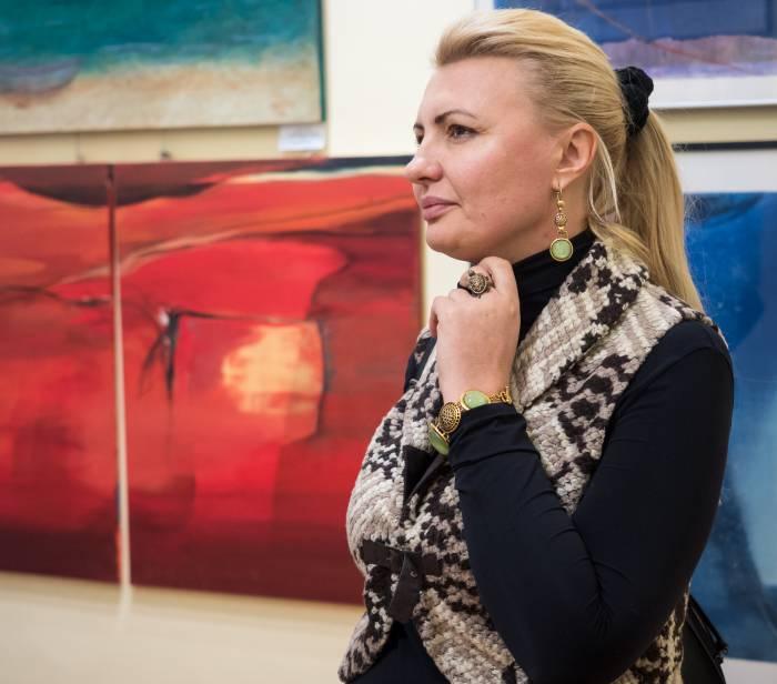 выставка художников из Юрмалы