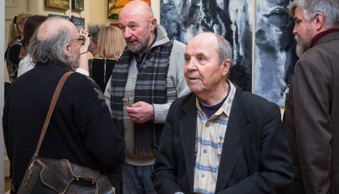 выставка латвийских художников