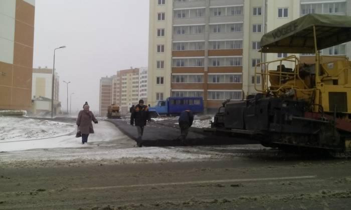 Обновленная дорога в Билево. Фото из соцсетей