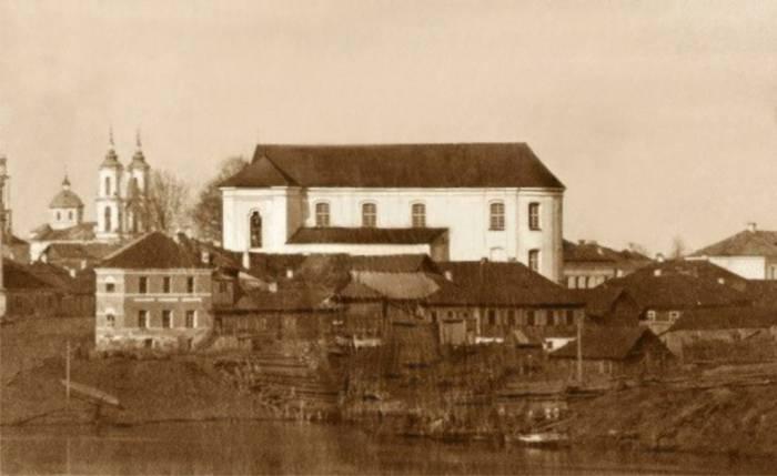 Доминиканский костел в 1862-1864 годах. Фото evitebsk.com