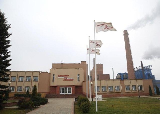 ОАО «Завод керамзитового гравия» в городе Новолукомль. Фото предоставлено нашим читателем