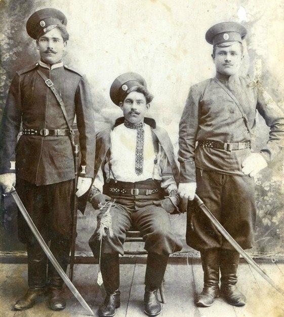 Донские казаки 1899-1900. Источник belklad.ru