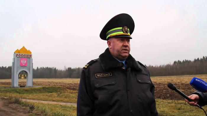 подполковник милиции Александр Самуль