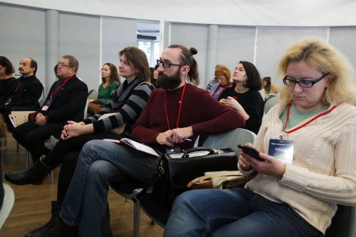 Участники «Media// Management// Future». Фото Анастасии Вереск