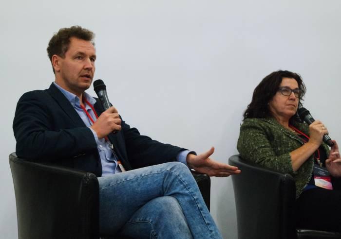 Александр Старикевич и Юлия Слуцкая. Фото Анастасии Вереск
