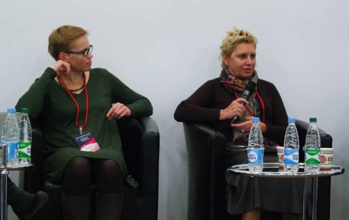 Марина Золотова и Инна Максимчик. Фото Анастасии Вереск