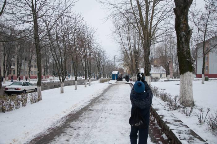 Теперь можно лепить снежки. Фото Анастасии Вереск