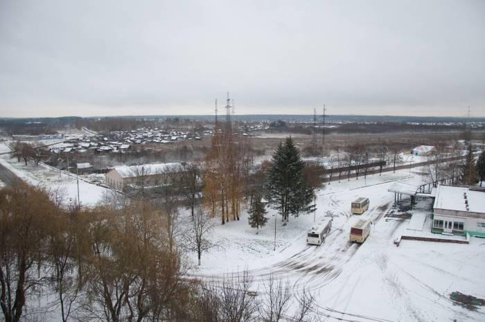 Когда за окном снегопад. Фото Анастасии Вереск
