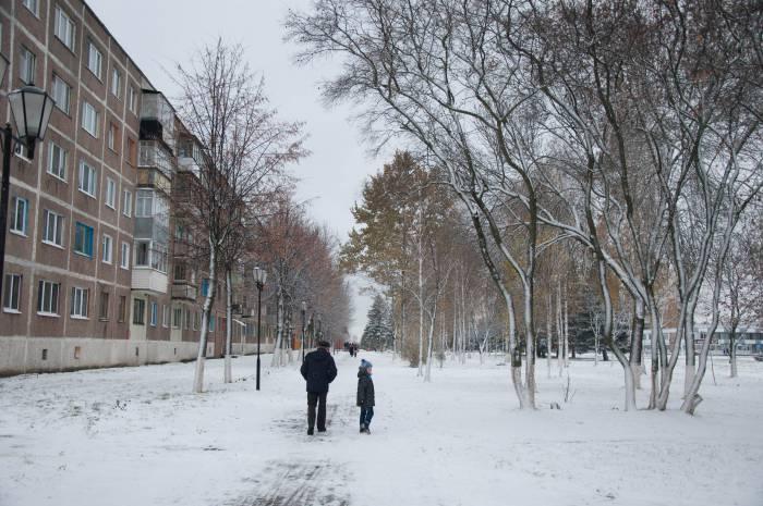 В такую погоду одновременно хочется прогуляться и не выходить из дома вообще. Фото Анастасии Вереск
